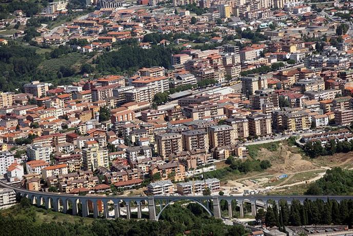 Isernia dall'alto - foto di Antonio Cardillo