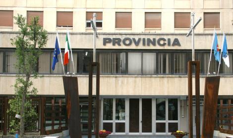 La sede della Provincia di Isernia