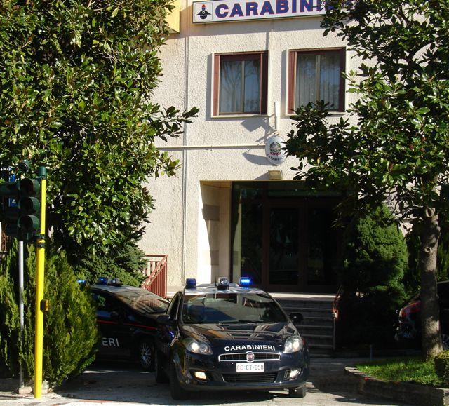 La caserma dei Carabinieri di Isernia