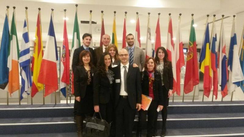 La delegazione dell'Avvocatura isernina in visita al Parlamento Europeo